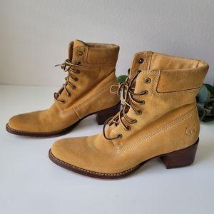 New Timberland Femmes 67317 wheat heel boots